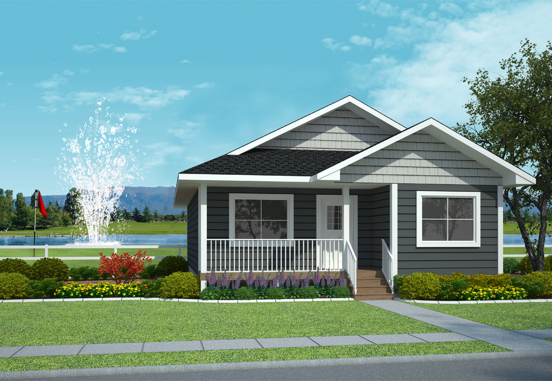 Home models lakeside golf resort House plans for golf course lots
